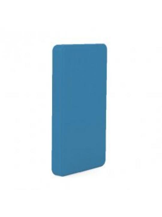 Caixa p/ disco externo acabam borracha Azul 2.5P USB 3.0 -CoolBox 2543-6