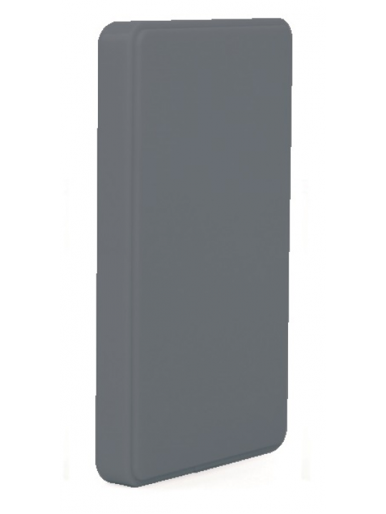Caixa p/ disco externo acabam borracha Cinza 2.5P USB 3.0 -CoolBox 2543-8