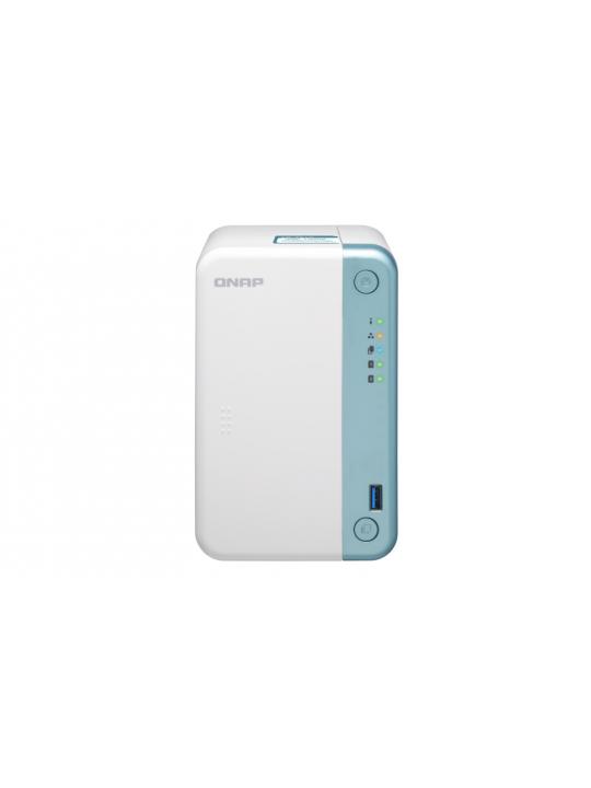 NAS QNAP 2-Bay Celeron J4005 2.0GHz Dual Core/2GB/1xGb/USB/Tower-TS-251D-2G