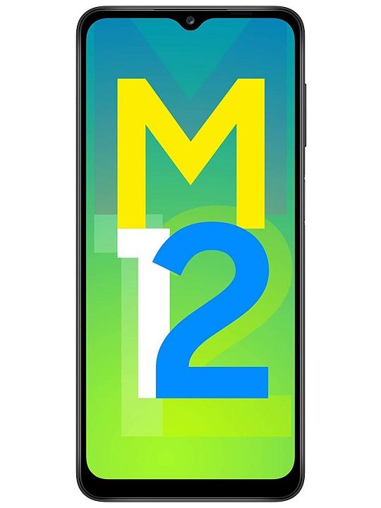 Smartphone Samsung Galaxy M12 128GB Preto