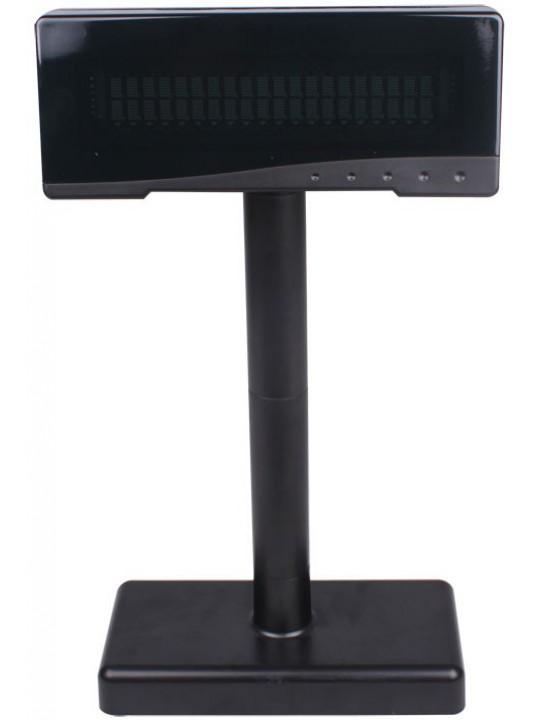 Visor de Cliente ZONERICH 2x20 Linhas, USB-Serie - VFD2300