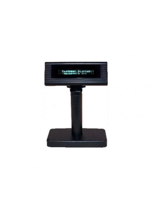 Visor de Cliente ZONERICH 2x20 Linhas, USB-Série - VFD510