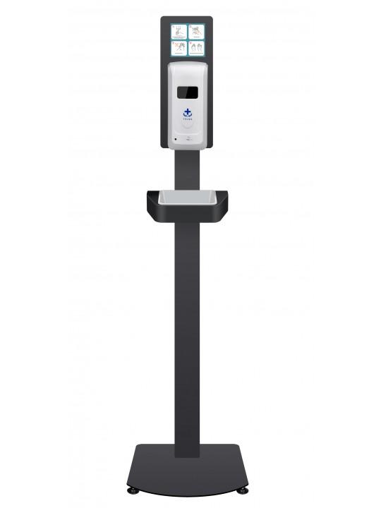 Dispensador Automático ZONERICH Álcool Gel Com Suporte de Chão