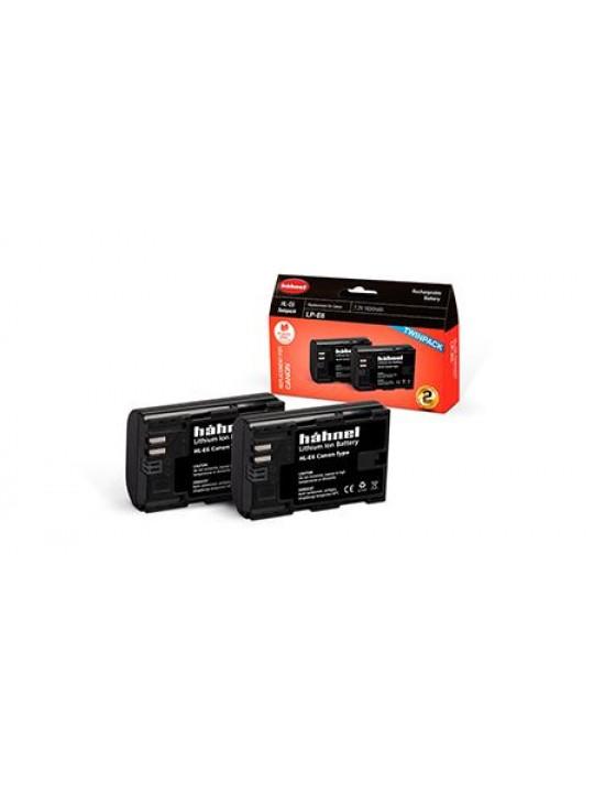 HAHNEL Bateria HL-E6 Twin Pack P/ CANON