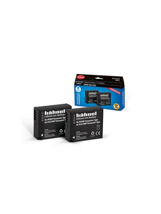 HAHNEL Bateria HL-PLG10HP Twin Pack PANASONIC