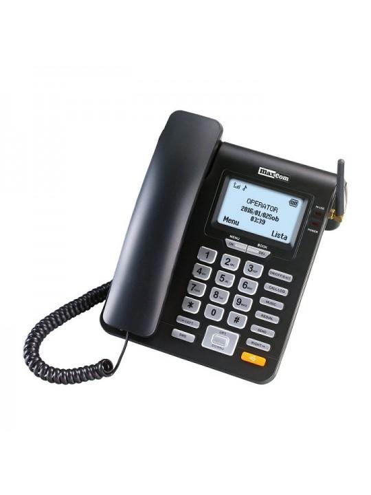 Telefone Fixo Maxcom  Comfort MM28D Single SIM 2G Preto