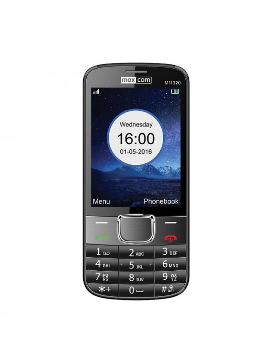 Telemovel Maxcom Classic MM320 3,2´´ Single SIM 2G Preto