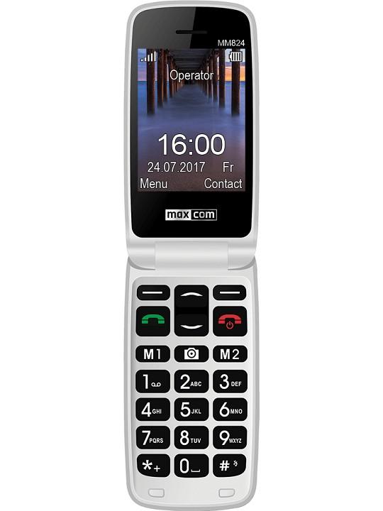Telemovel Maxcom Comfort MM824 2,4´´ Single SIM 2G Preto
