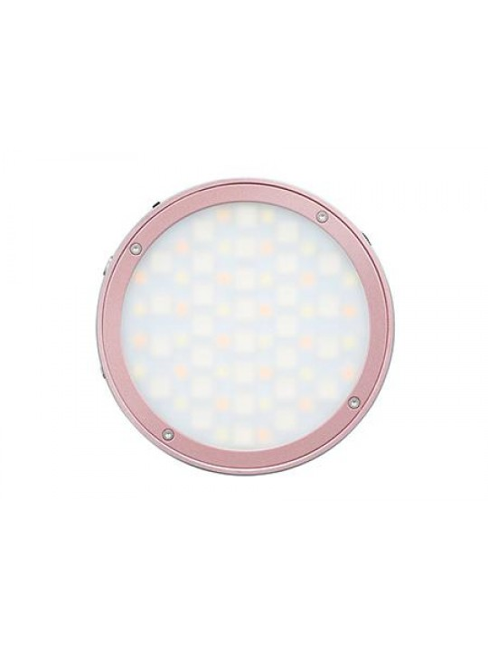 Godox ILUMINADOR MINI LED R1 RGB CIRCULAR (PINK)